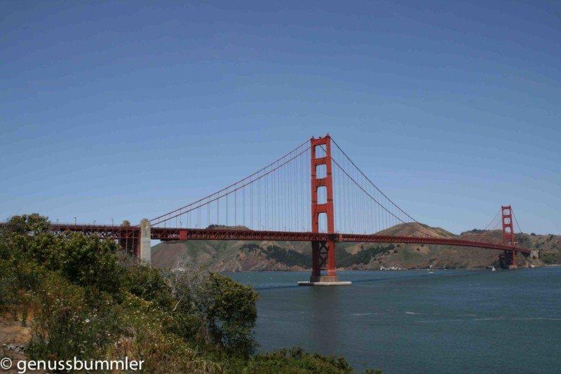 Roadtrip San Francisco Golden Gate Bridge