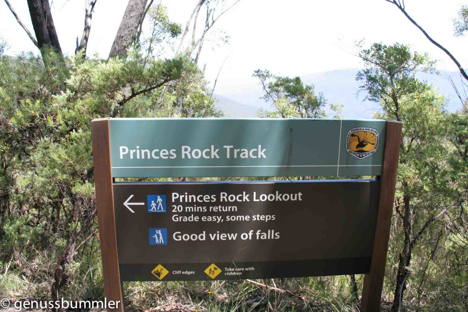 Blue Mountains Princes Roch