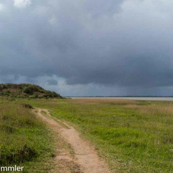 Sylt bei schlechtem Wetter Morsumer Kliff