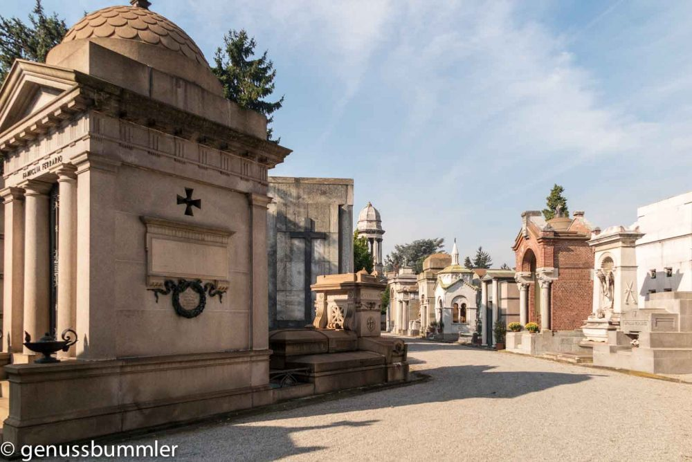 Reise nach Mailand Friedhof