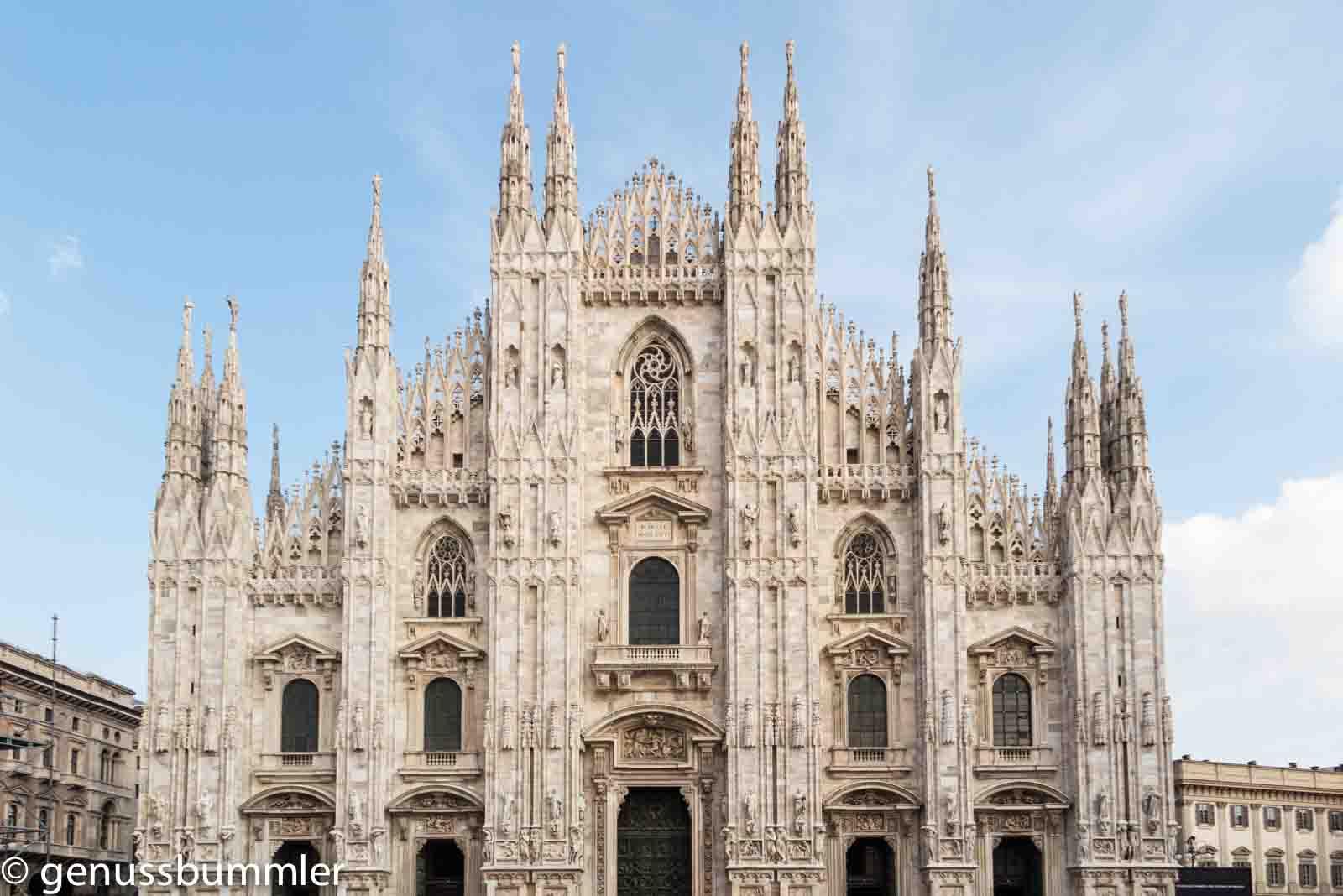 Reise nach Mailand Mailänder Dom