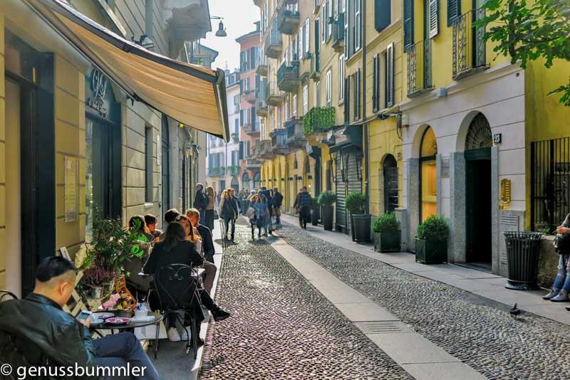 Reise nach Mailand