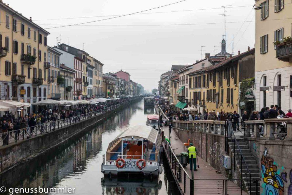 Reise nach Mailand Navigli