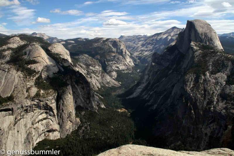 Reisetipps zum Yosemite Nationalpark Glacier Point