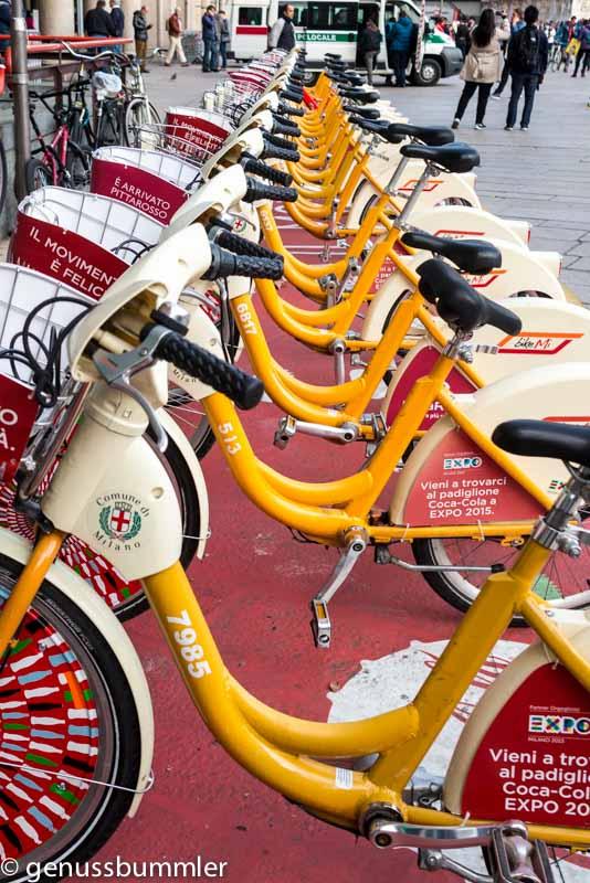Mailand Fahrräder