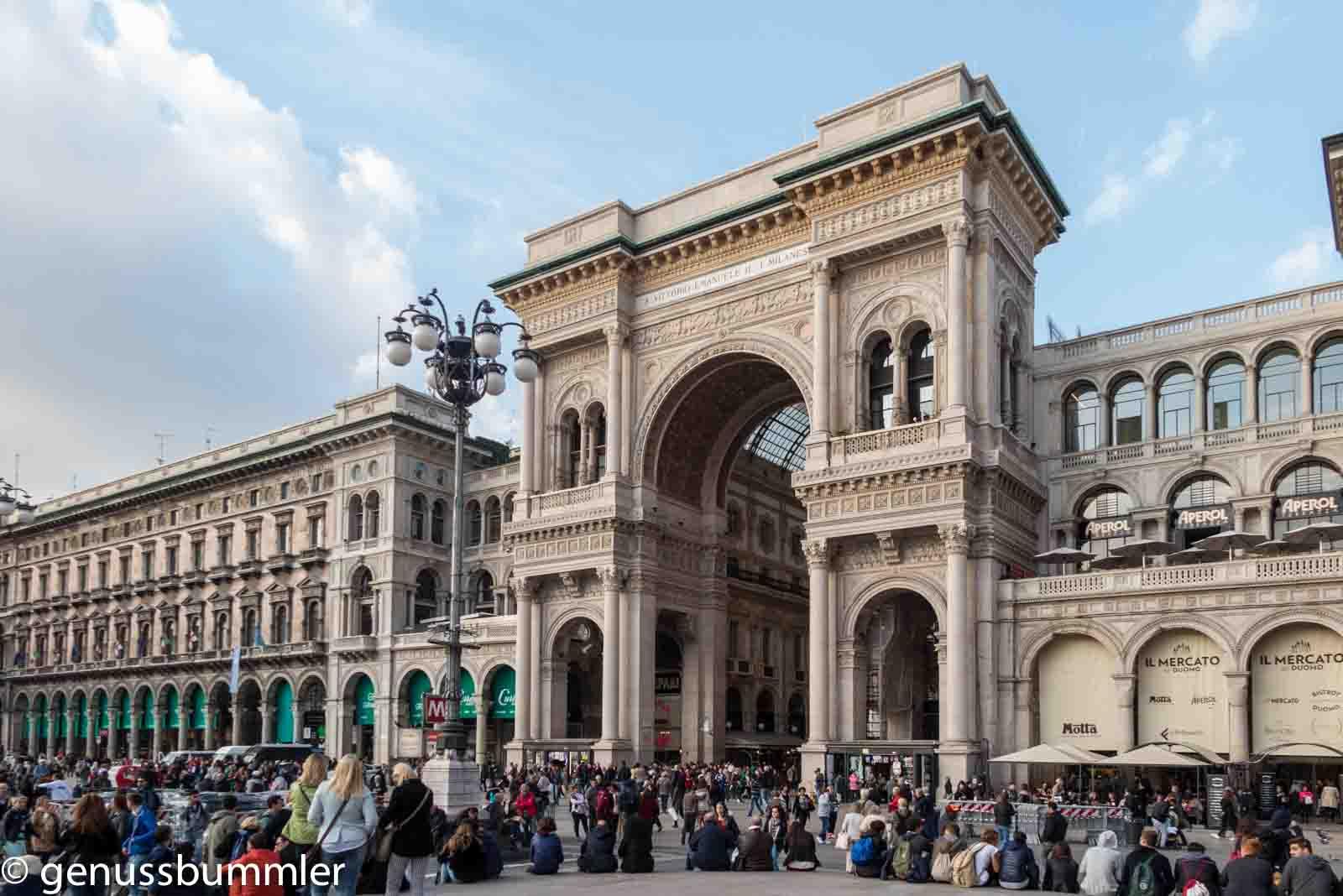 Mailand Galleria Emanuele