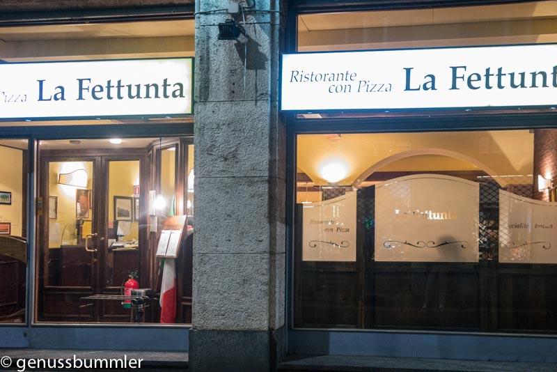 Mailand Ristorante La Fettuna
