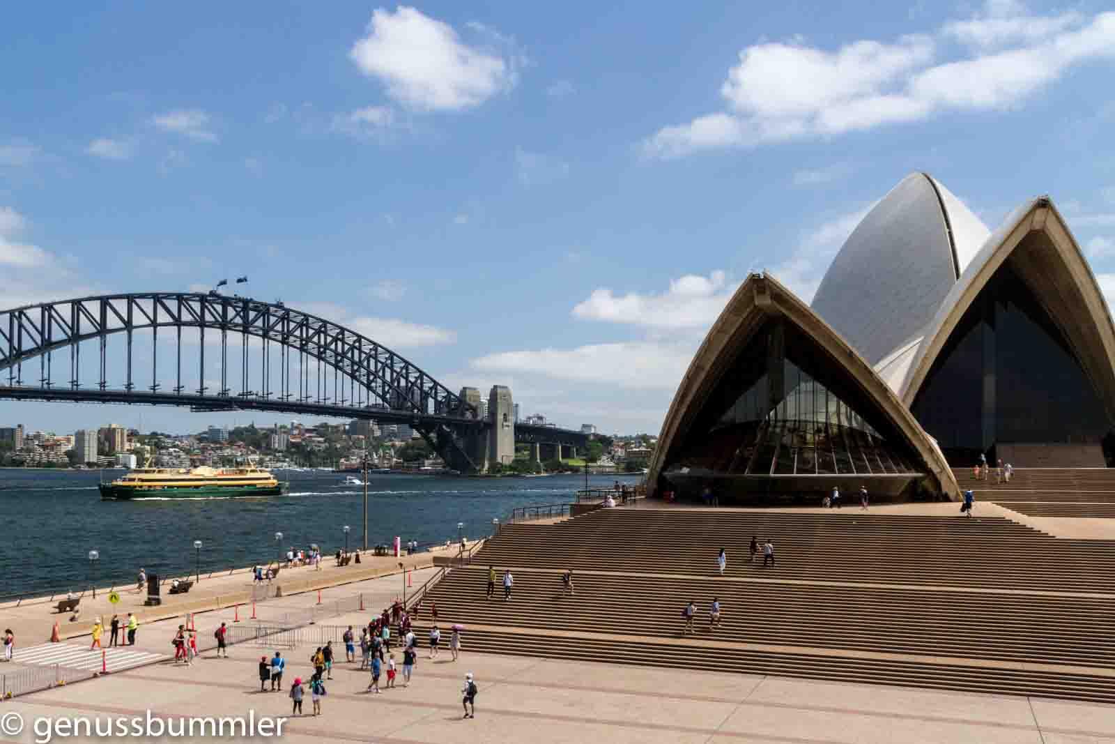 Sydney Panorama Harbour Bridge Oper
