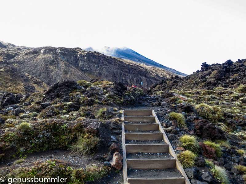 Tongariro Alpine Crossing Devils Staircase