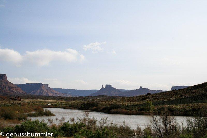 Arches Nationalpark Highway 128 Colorado River