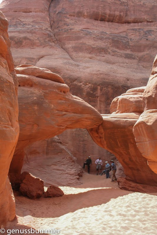 Arches Nationalpark Sand Dune Arch