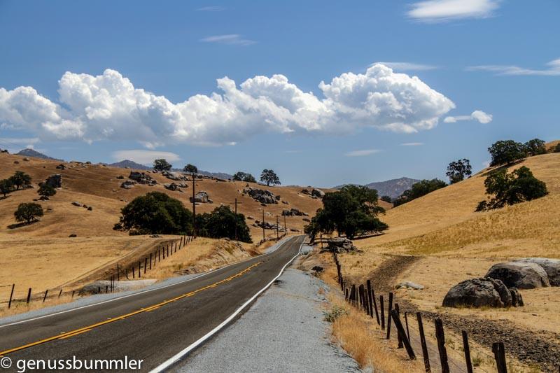 USA Kalifornien Hills