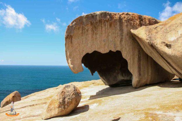 Kangaroo Island Australien Remarkable Rocks