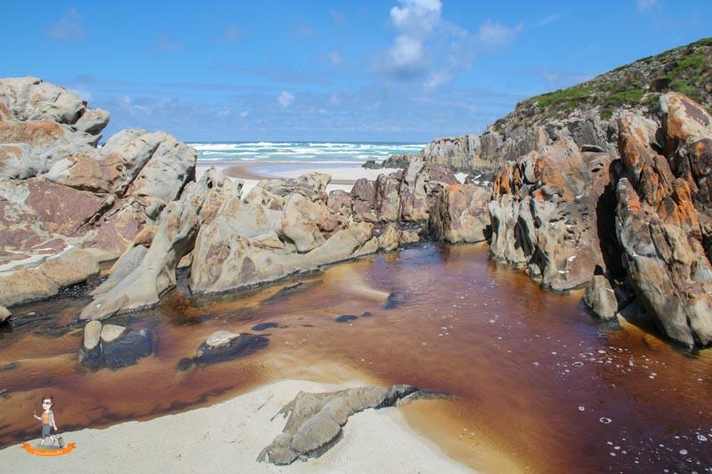 Kangaroo Island Australien Snake Lagoon