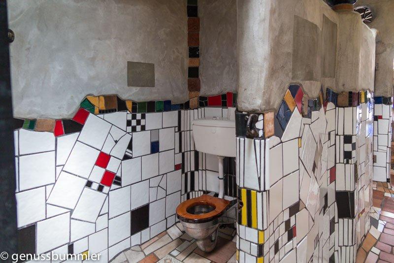 Neuseeland Bay of Island Hundertwasser Toilette