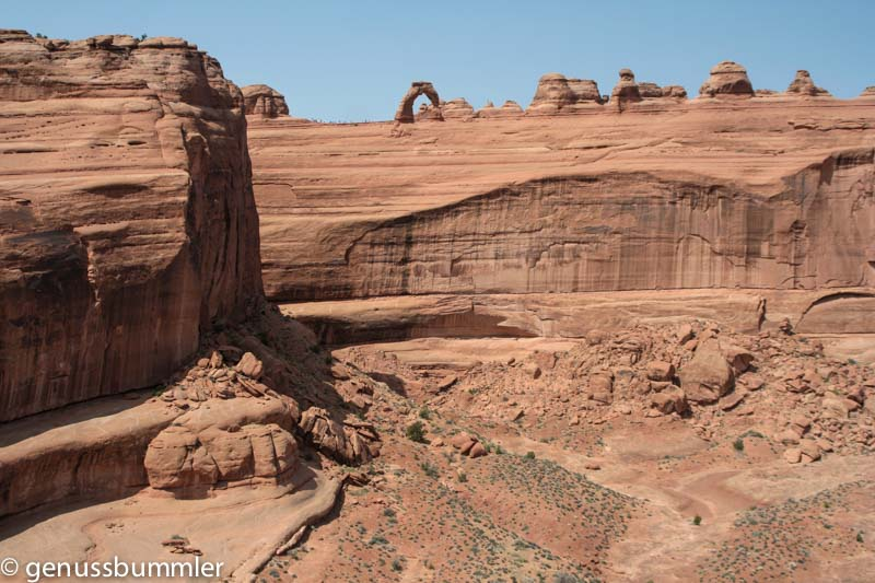 Arches Nationalpark Delicate Arch Viewpoint