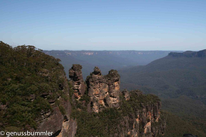Blue Mountains Reisebericht Three Sisters