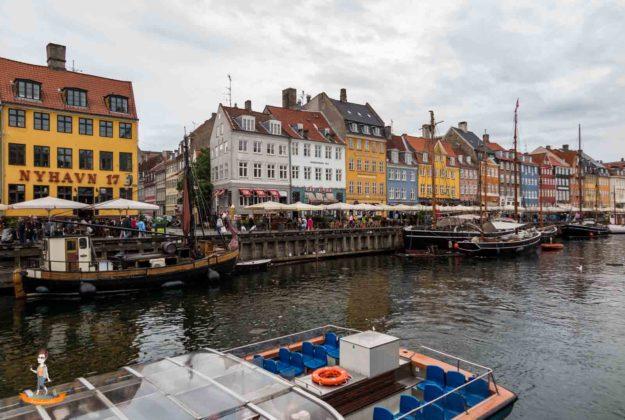 Daenemark Kopenhagen Nyhavn