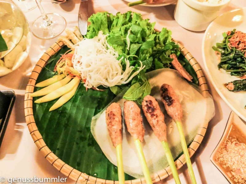 Essen Vietnam Sommerrollen