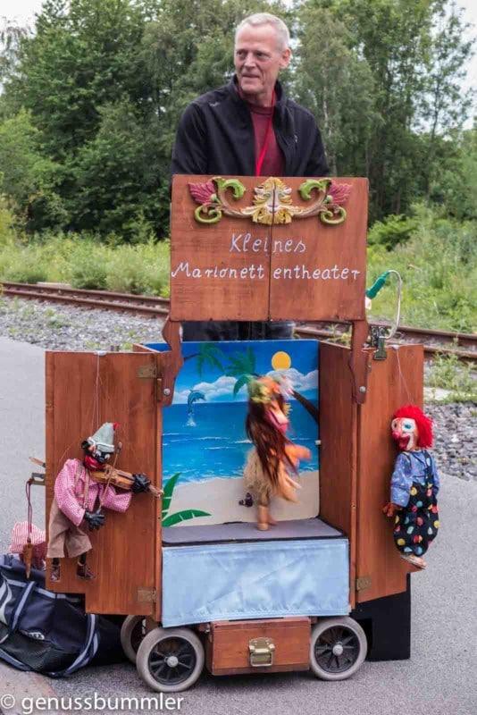 Extraschicht Nacht der Industriekultur Zeche Zollverein das kleine Marionettentheater