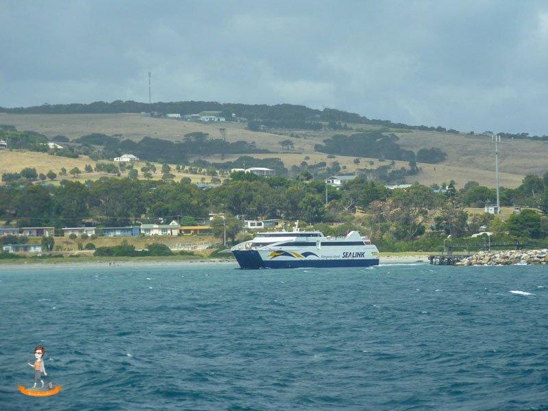 Kangaroo Island Australien Faehre