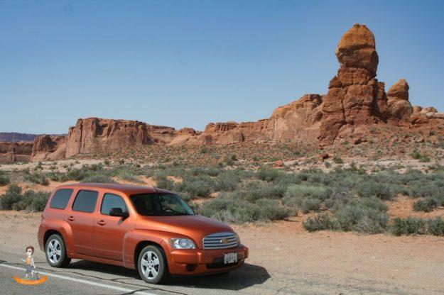 Mietwagen Tipps Tricks Arches