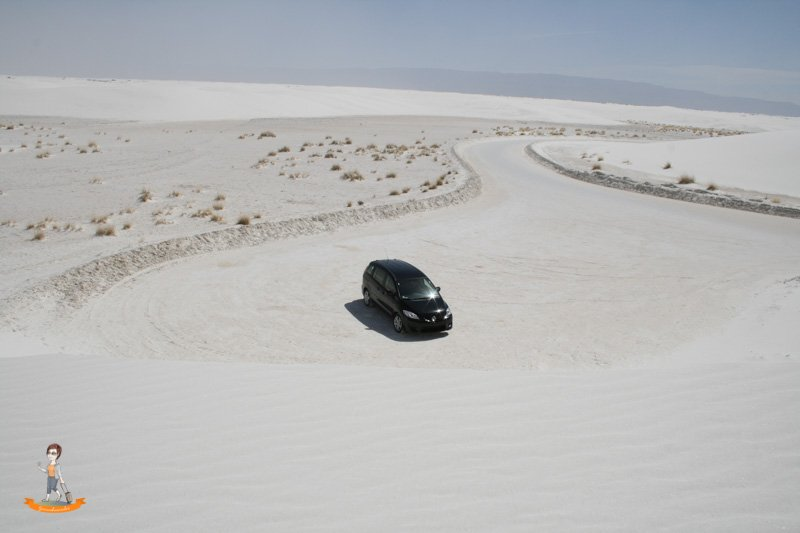 Mietwagen Tipps Tricks White Sands