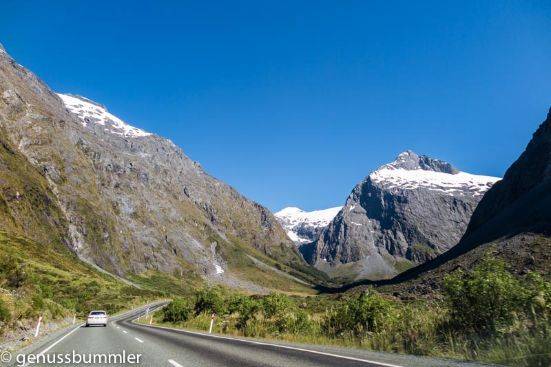 Neuseeland Milford Road