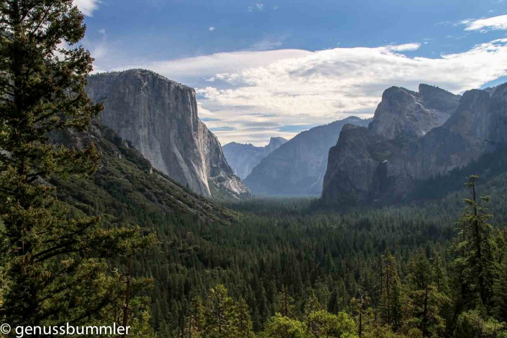 Reisetipps zum Yosemite Nationalpark Tunel View