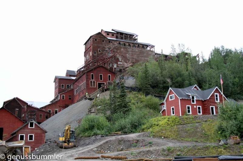 kennicott glacier lodge mine