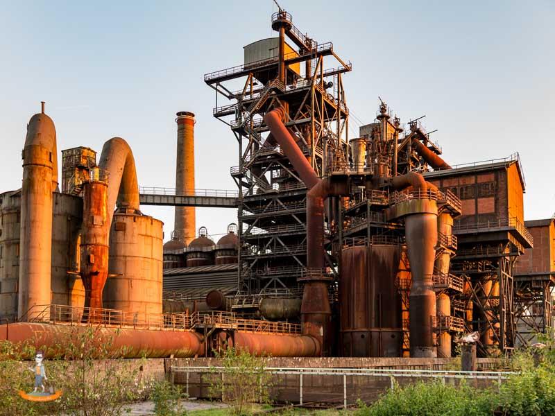 Landschaftspark Duisburg-Nord - Industriekultur zum Anfassen