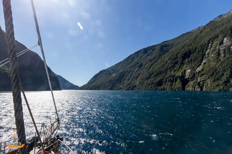 Milford Sound Schifffahrt Uebernachtung