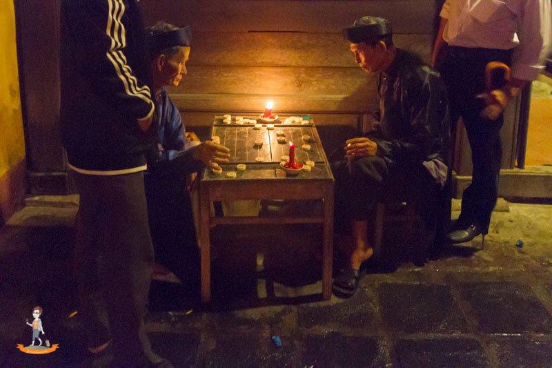Vietnam Hoi-An vietnamesisches Schachspiel