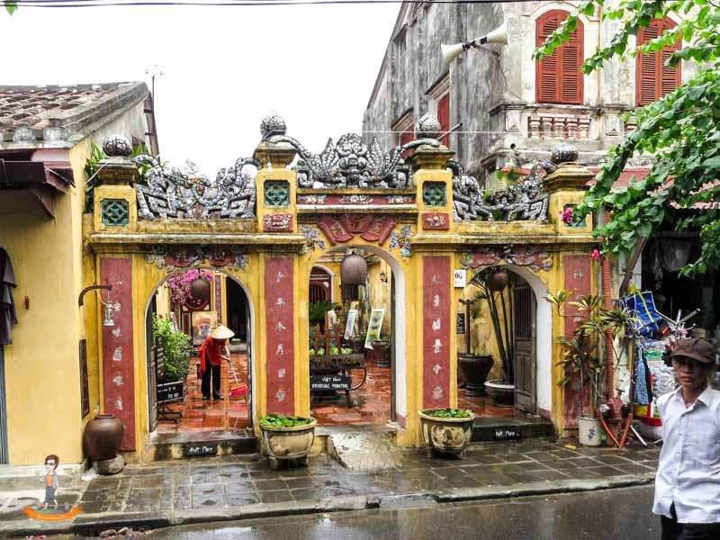 Vietnam Hoi-An Tempel