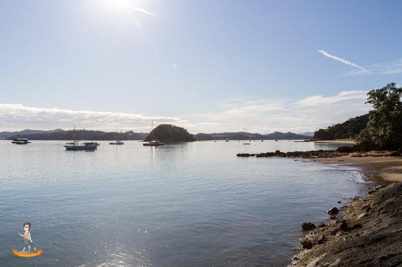 Northland von Neuseeland Paihia