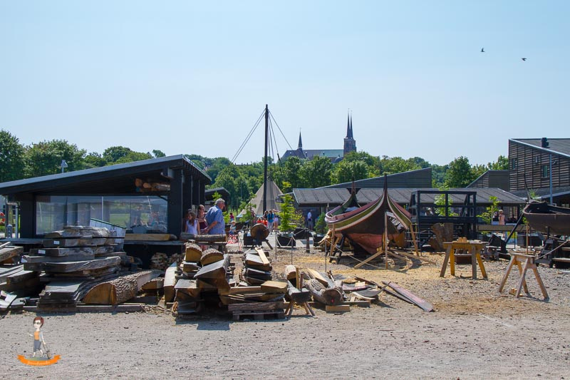 Daenemark Roskilde Wikingerschiffe