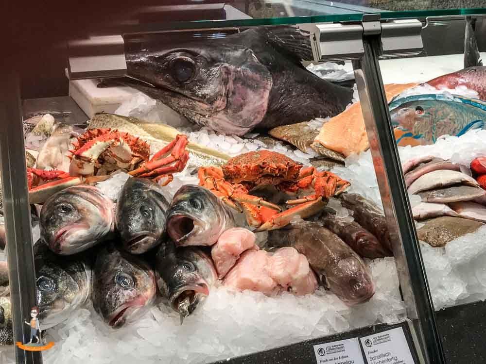 Berlin KaDeWe Fischtheke