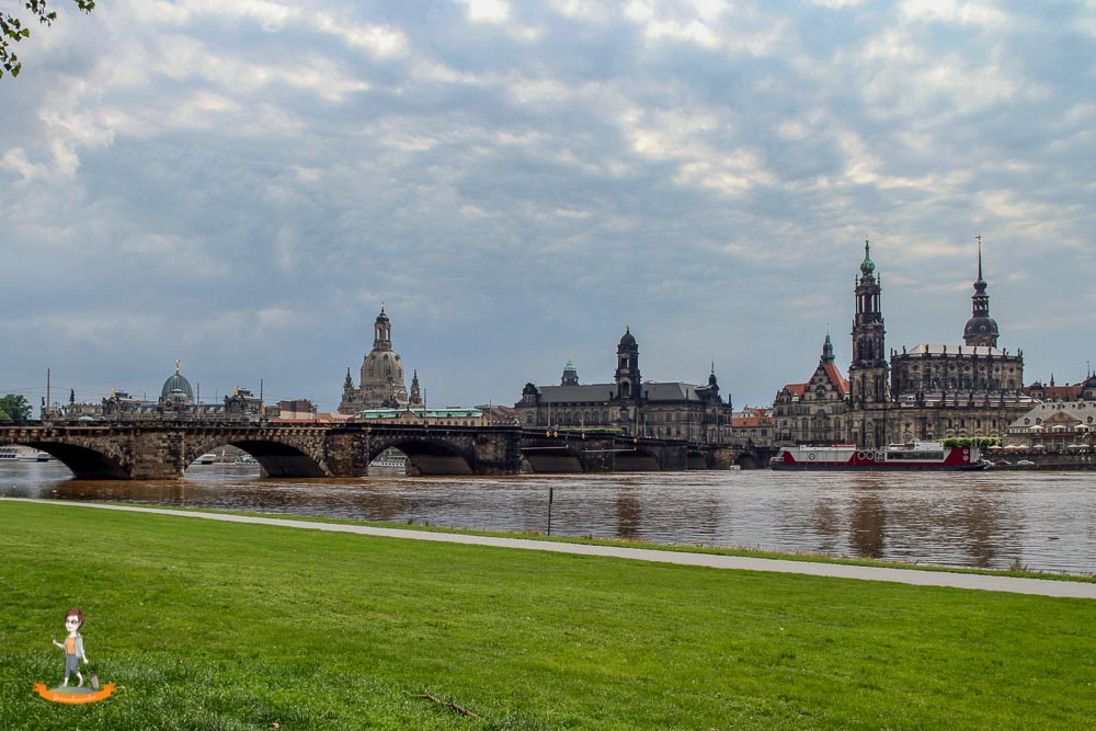 Dresden Candaletto Blick