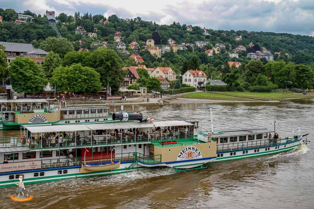 Dresden Dampfschiff