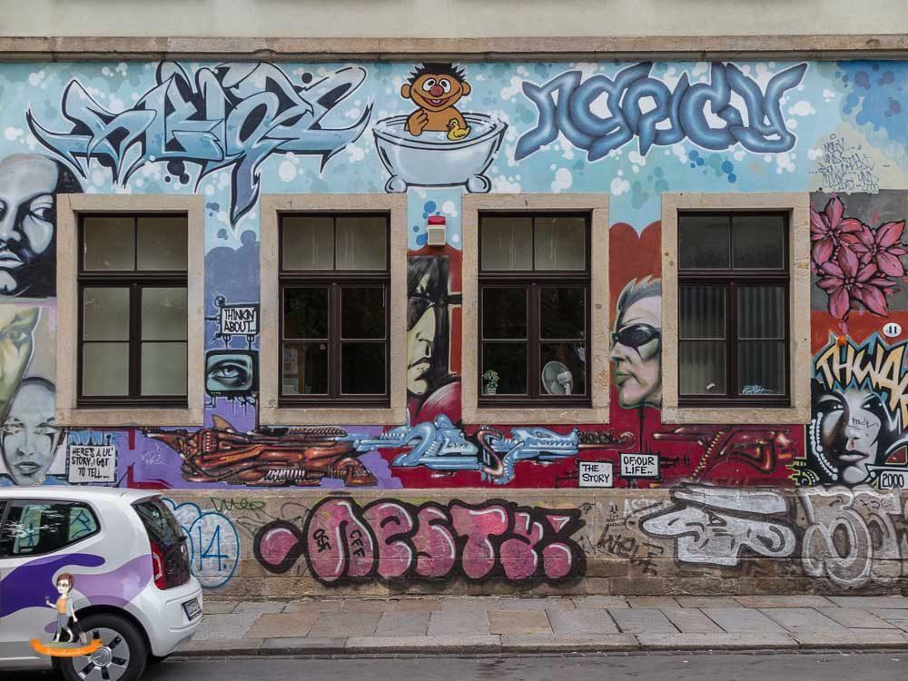 Dresden aeussere Neustadt