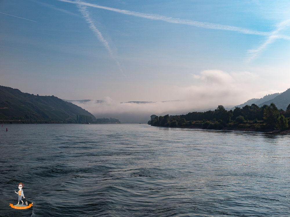 Schifffahrt durchs Rheintal