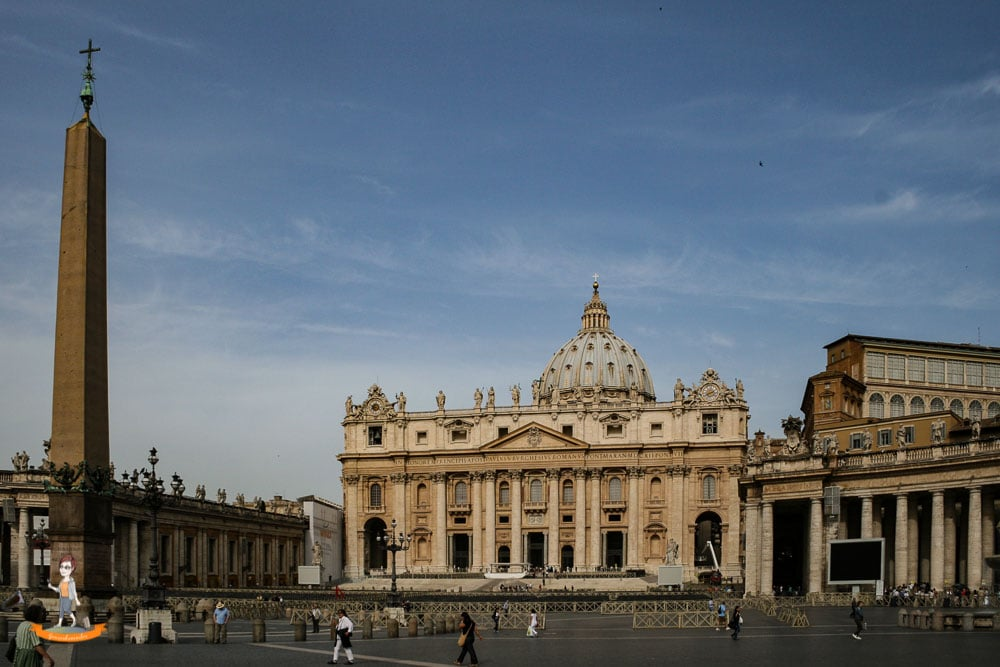 Staedtereise Rom Petersdom