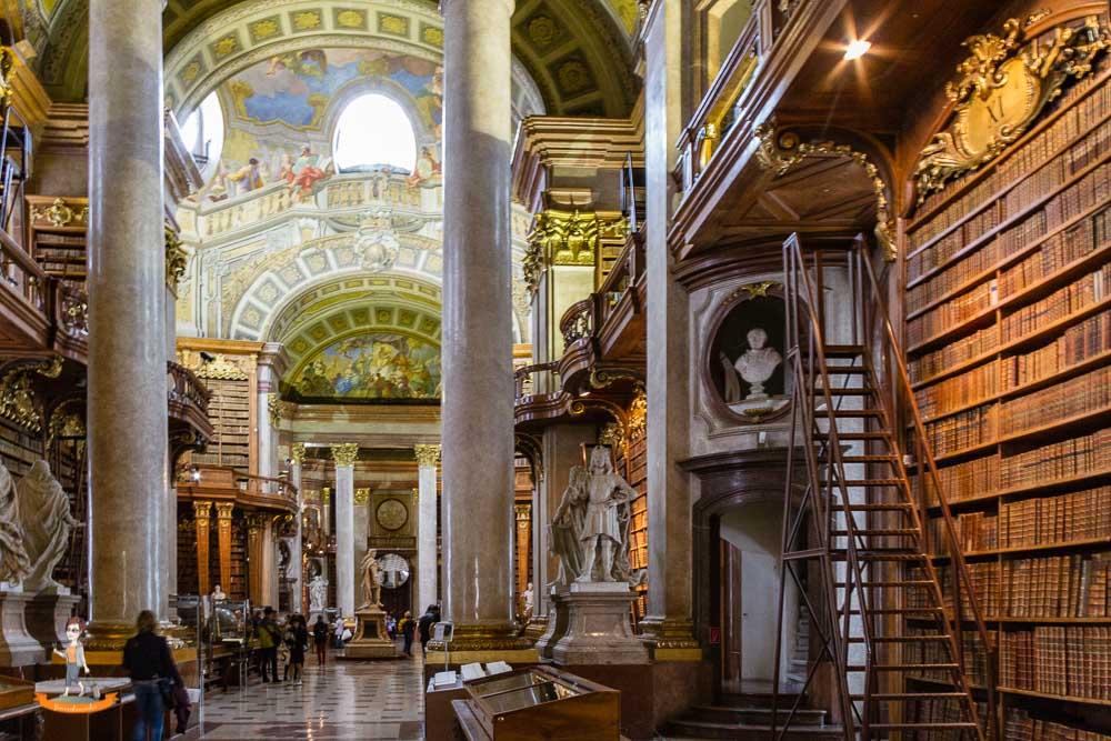 Wochenende in Wien Zentralbibliothek