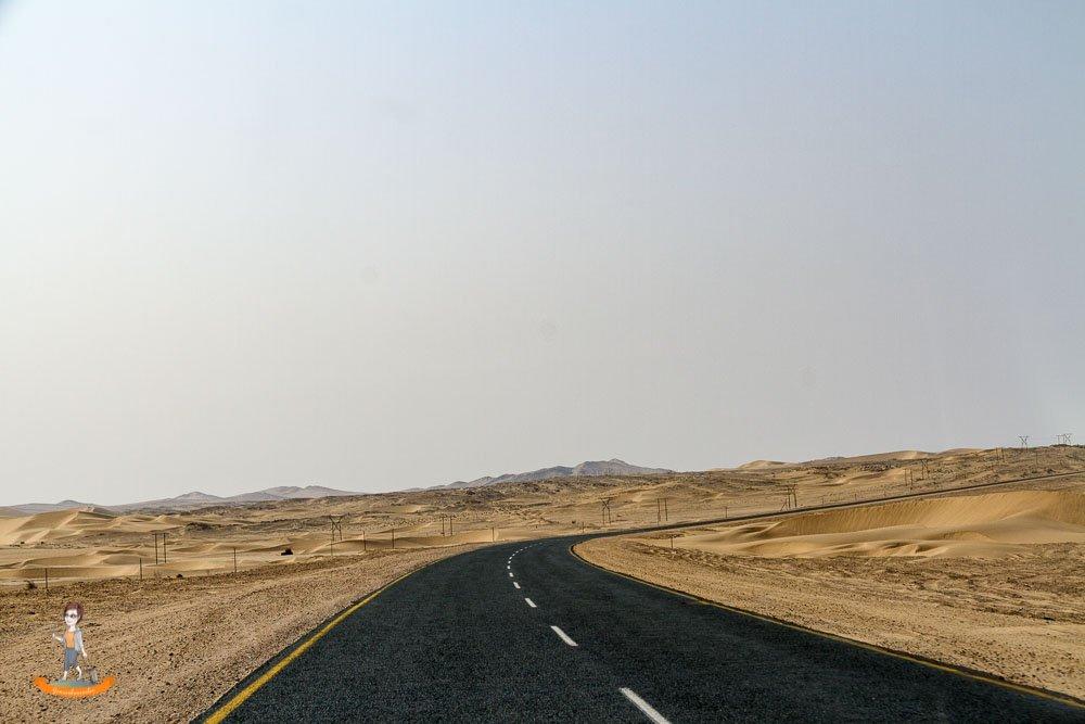 Hauptstrasse Luederitz Namibia