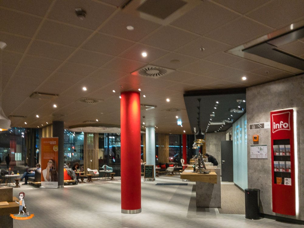 Ibis Wien Hauptbahnhof Reiseblogger WG