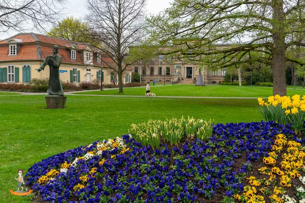 Wolfenbüttel Wochenende Lessinghaus Bibliothek