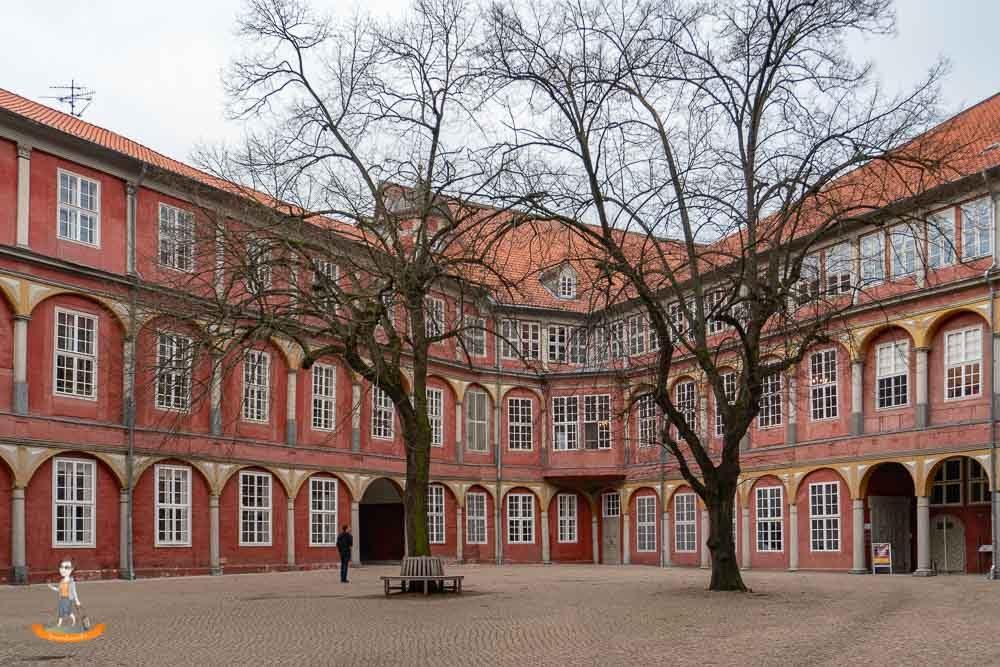 Wolfenbüttel Wochenende Schloß Innenhof