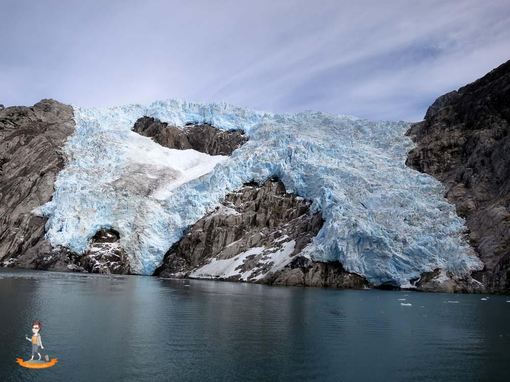 Alaska Kenai Fjords Gletscher