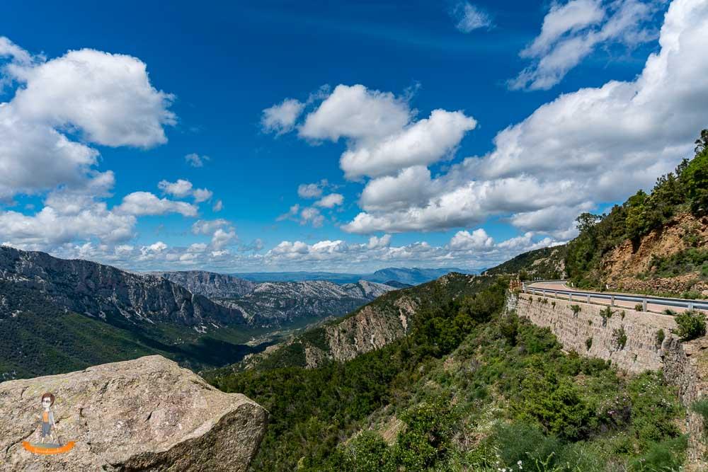 Sardinien Berge