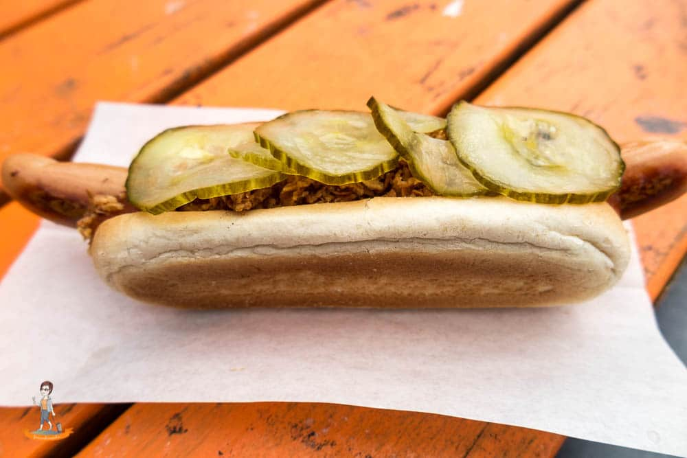 Streetfood Kopenhagen Hot Dog
